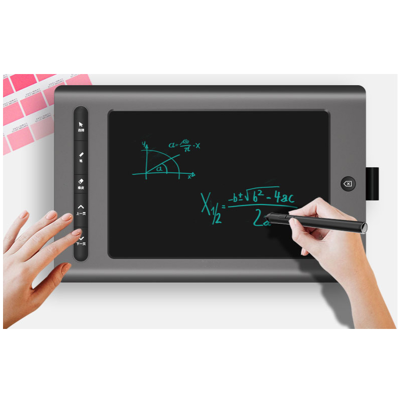 WP9618 2.4G wireless drawing graphic tablet with pen and cable connection